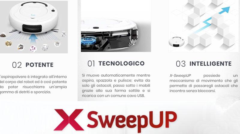 Caratteristiche di X SweepUp