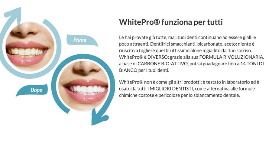 come funziona White Pro
