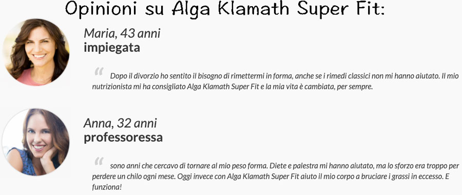 Alga Klamath Super Fit opinioni