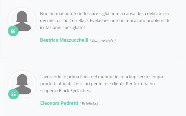 Opinioni su Black Eyelashes