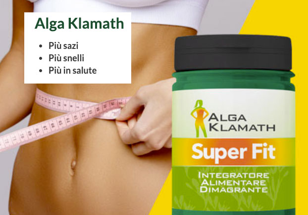 come funziona Alga Klamath Super Fit