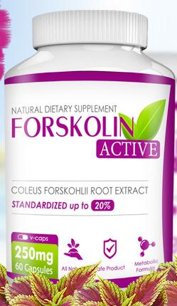 Integratore Forskolin Active