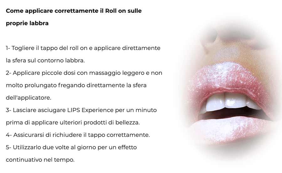 Come funziona Lips Experience